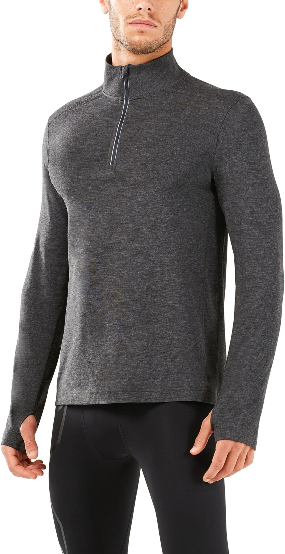 2XU 2XU 2XU M's Heat 1/4 Zip Shirt outer space/outer space 2618a5